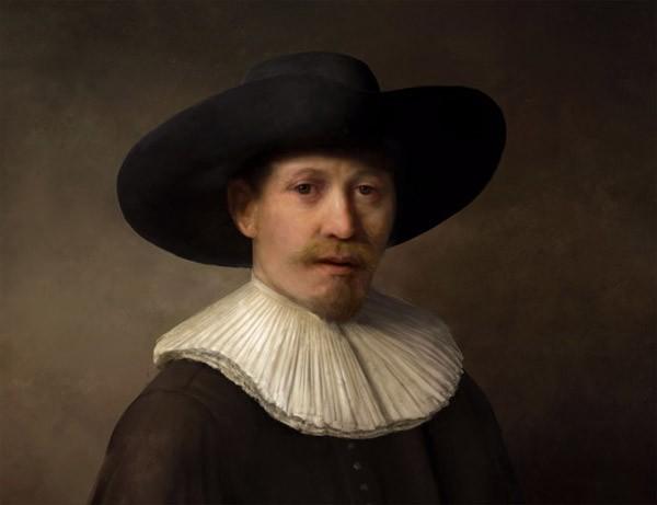 Nieuwe Rembrandt uit de computer is niet van echt te onderscheiden