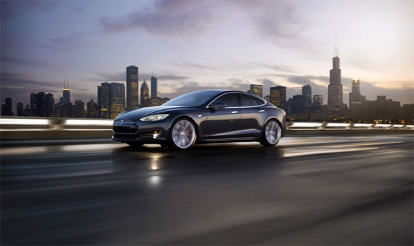 Tesla's hebben een verborgen Rainbow Road modus