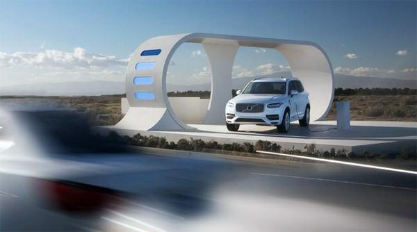 Volvo's nieuwste auto steelt energie van medeweggebruikers