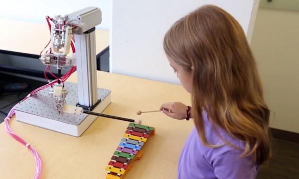 Robotarm van Disney kloont menselijke bewegingen