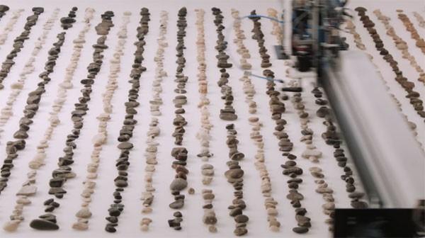 Jller: een machine die steentjes sorteert