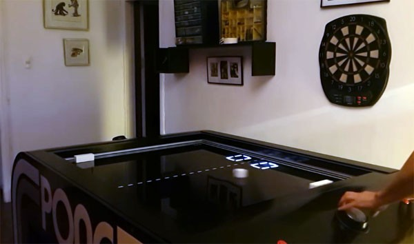 Voor de mancave: een mechanische versie van Pong