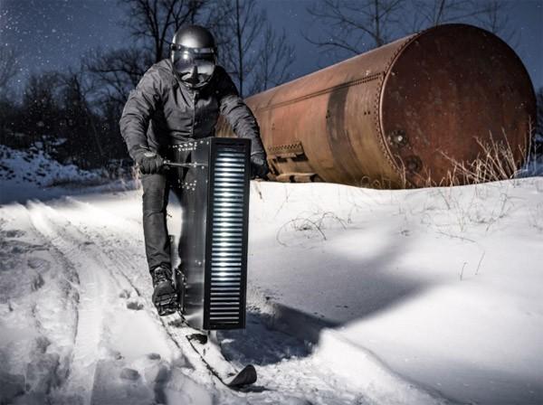 Sno Ped: een beest van een sneeuwscooter