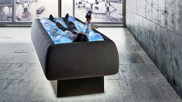 Dit futuristische waterbed geeft je het gevoel van gewichtsloosheid