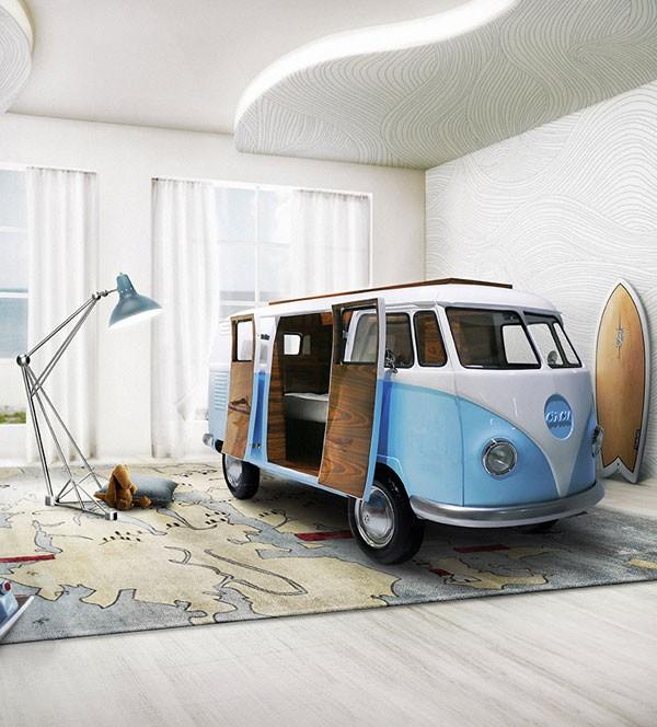 Bun Van Bed: een Volkswagenbusje als bed