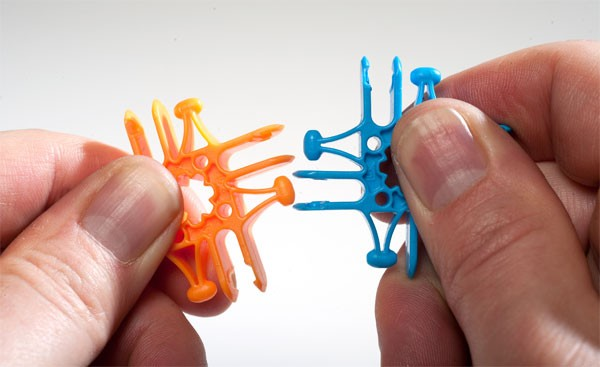 Lux Blox: een buigbare vorm van LEGO