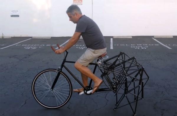 Strandbeest Bike: de lopende fiets