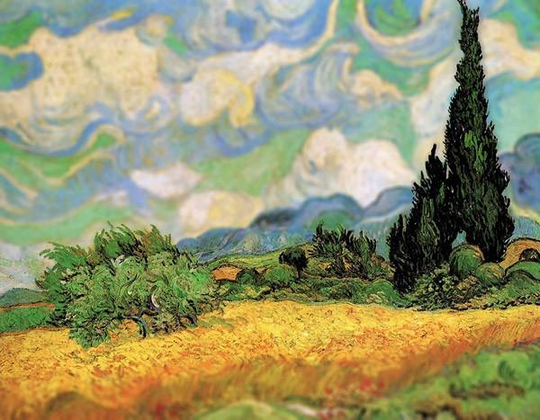 Digitale tilt-shift maakt van Gogh nog indrukwekkender