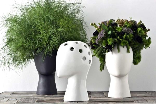 Maak een bloemen- of plantenkapsel met de Wig Vase