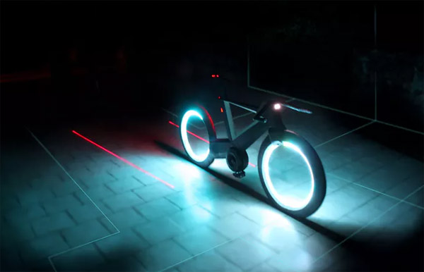 Licht In Fietswiel : Verlichting fiets nieuw lumiparty fiets licht fietsen spoke wiel