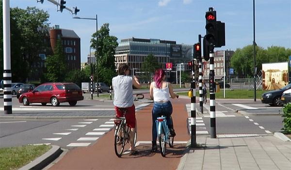 De slimme fietsverkeerslichten in Den Bosch gaan de hele wereld over