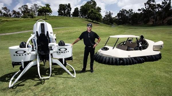 Bubba's Jetpack: vliegend over de golfbaan