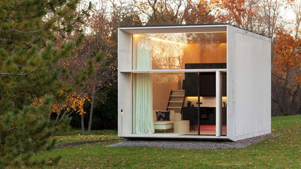 Koda House: een klein duurzaam huisje dat in zeven uur gebouwd wordt