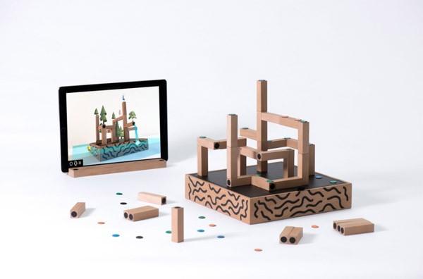 Koski blokjes vermengen de digitale en de analoge wereld