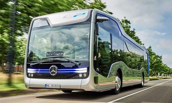 De Mercedes-Benz Future Bus is klaar voor de toekomst