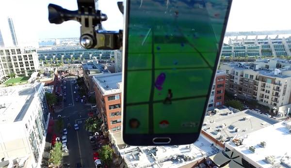 Dronémon Go: vang Pokémon met een drone