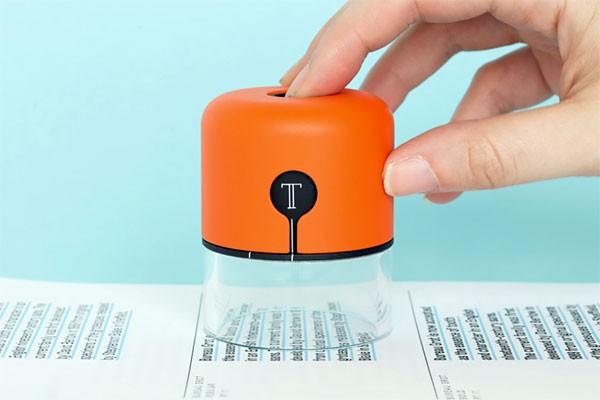Spector: een apparaatje dat lettertypes en kleuren herkent