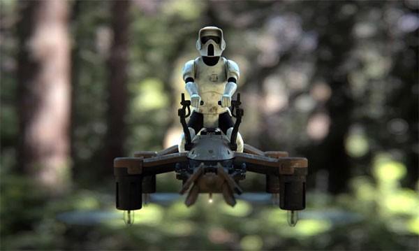 Officiële Star Wars drones met ingebouwde lasers