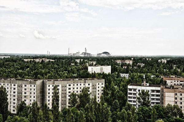 In Tsjernobyl gaat men wellicht een enorm zonnepanelenpark bouwen
