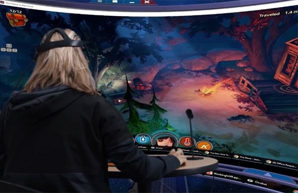 Envelop VR: Windows in virtual reality
