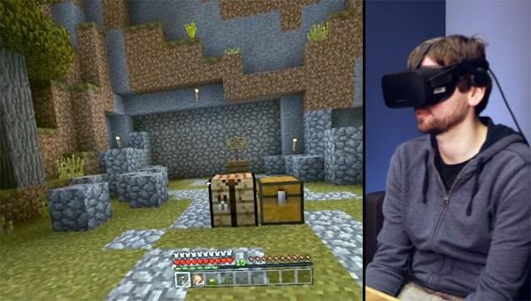 Minecraft VR is nu beschikbaar voor de Oculus Rift