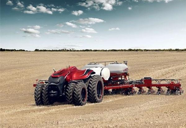 Zelfrijdende tractor is ideaal voor moderne boeren