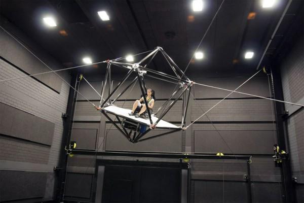 De CableRobot Simulator is de droom van VR-fans