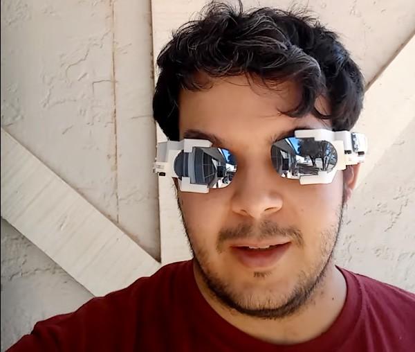 Autoshade: de zonnebril die vanzelf tevoorschijn komt
