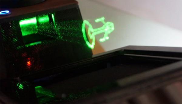 Je kunt nu op Kickstarter een holografisch display bestellen