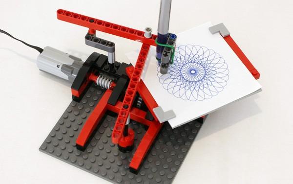 Zo maak je zelf een spirograaf van LEGO