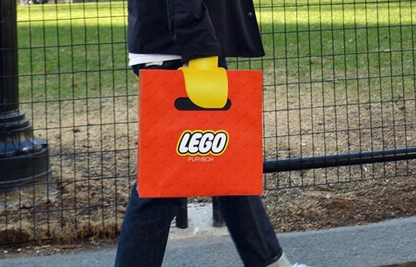 Deze vernuftige tas geeft je gele LEGO-handen