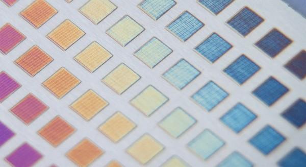Nieuwe uitvinding: laserprinten met kleur op metaal