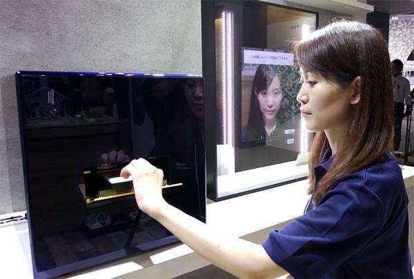 Nieuw apparaat van Panasonic print persoonlijke make-up
