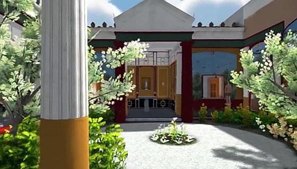 Neem een kijkje in een 3D-model van een eeuwenoude villa in Pompeii