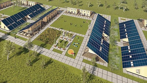 SolarCabin: een Nederlands huisje dat je laat wonen onder zonnepanelen