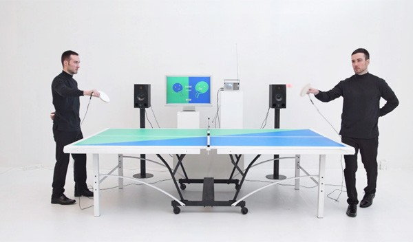 Ping Pong FM: een tafeltennistafel voor feestjes