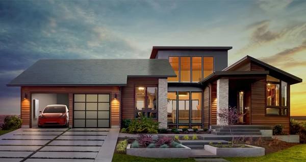 Tesla heeft dakpannen met zonnepanelen ontwikkeld