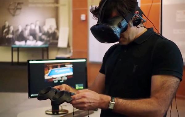 Wereldkampioen snooker genekt door virtuele tafel