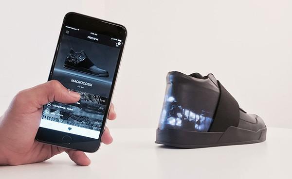 "Vixole Matrix: een lichtgevende ""e-sneaker"""