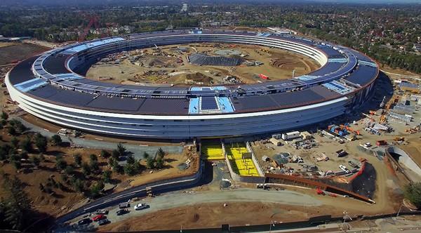 Nieuwe video toont massieve omvang van het nieuwe Apple-hoofdkantoor
