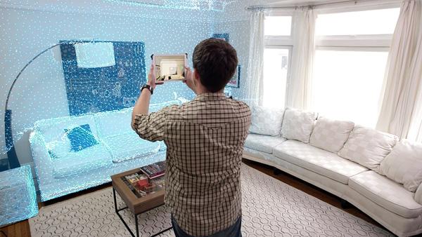 Nieuwe app en sensor laten je 3d modellen van je huis maken for Huis maken 3d