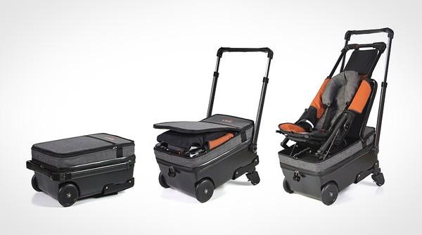 Born to Fly: een koffer met ingebouwde buggy
