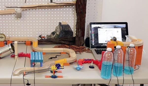 Vijf steden en een internetverbinding: een moderne Rube Goldberg machine