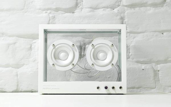 Small Transparent Speaker: een prachtige doorzichtige speaker