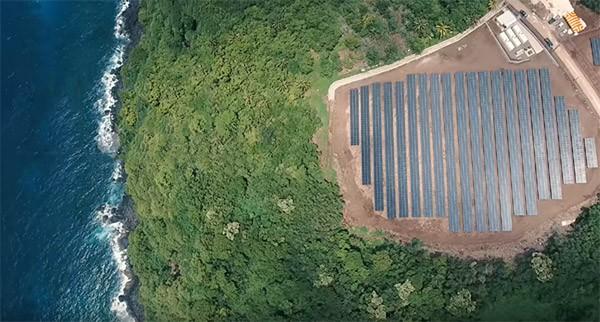 Van diesel naar zonne-energie: hoe Tesla een eiland verduurzaamt