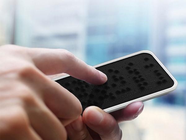 Textura: een smartphone met braillescherm