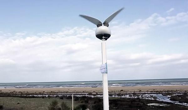 Nieuw type windturbine maakt aanzienlijk minder lawaai