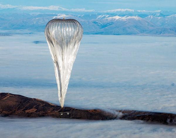 Google's wifi-luchtballonnen blijken goed samen te kunnen werken