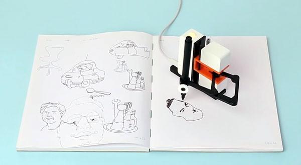 Line-us: een betaalbare tekenrobotarm