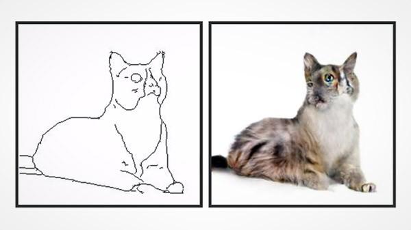 Pix2pix: teken een kat, laat het algoritme zijn werk doen